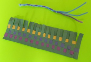 weaving a caxixi rattle