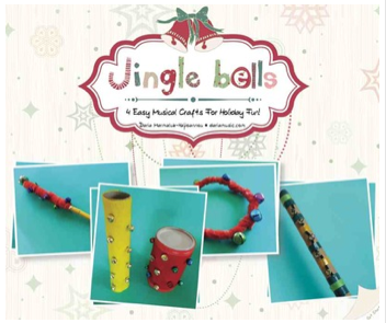 Jingle Bell Craft Booklet pdf