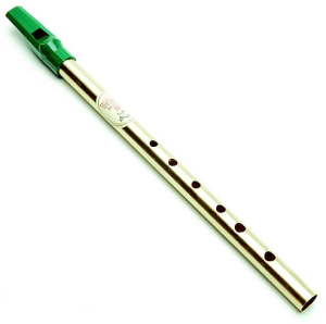 Prize Green tin whistle - key of D