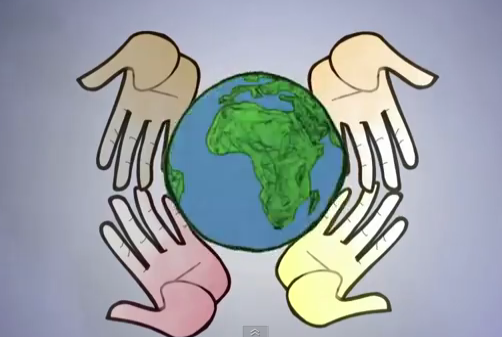 whole world hands