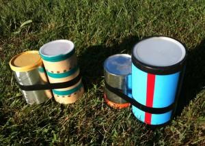 bongos in the grass