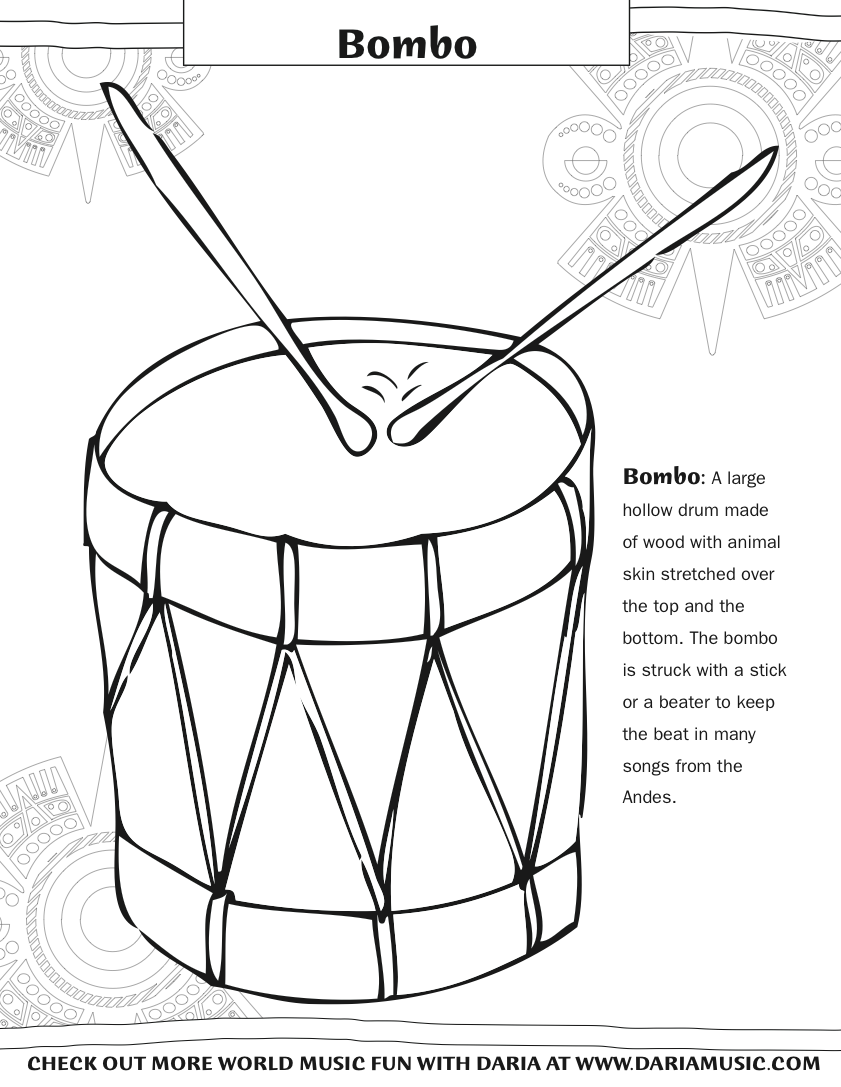 Free coloring pages instruments - Screen Shot 2014 09 27 At 12 22 27 Pm Free