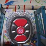 Daria's homemade gong