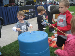 wwdop all play the recycled drum