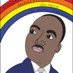 MLK Mini-poster