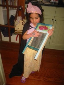 bella and washboard