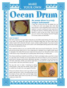 ocean drum pdf