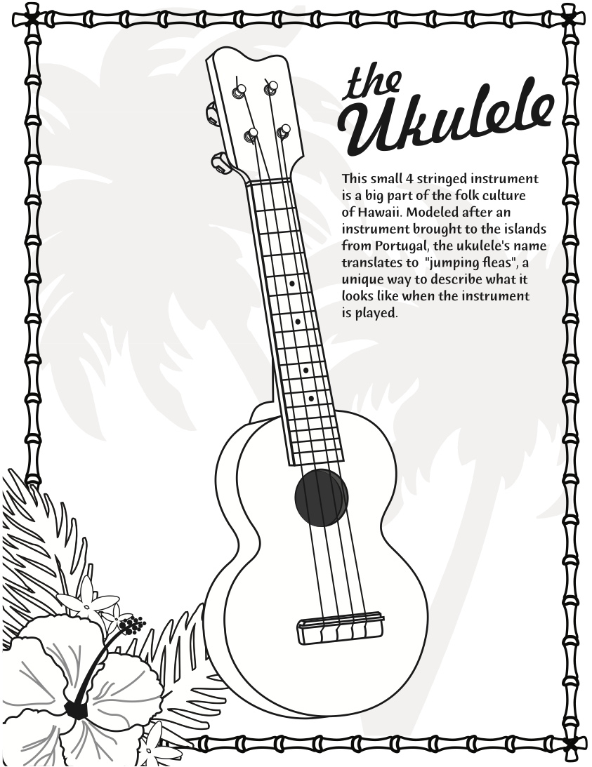 ukulele tiny tapping toes