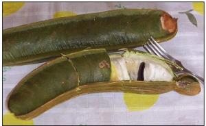 pacay fruit - ripe