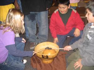 ghana gourd drum