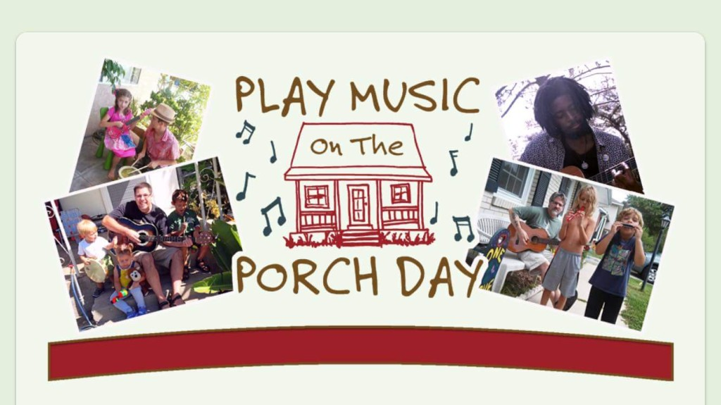 Porch day music icon