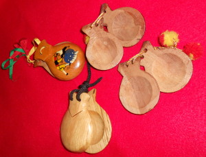 wooden castanets