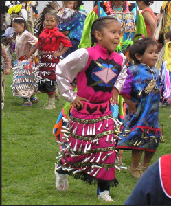Jingle Dress via WIkimedia commons