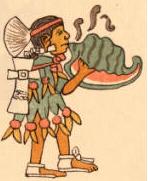 aztec conch trumpet