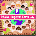 DARIA Sings For Earth Day - CD Cover