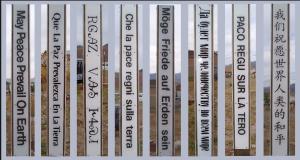 many peace poles