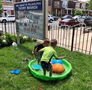 kiddy pool water drum (Tacony)